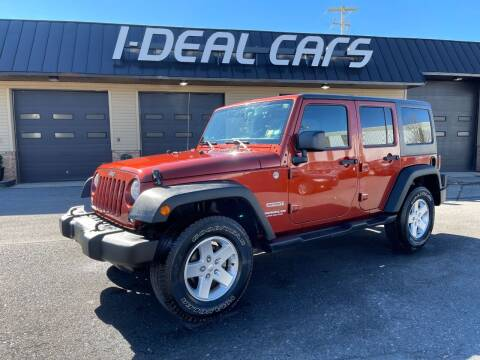 2014 Jeep Wrangler Unlimited for sale at I-Deal Cars in Harrisburg PA