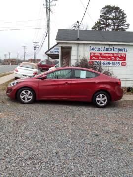 2015 Hyundai Elantra for sale at Locust Auto Imports in Locust NC