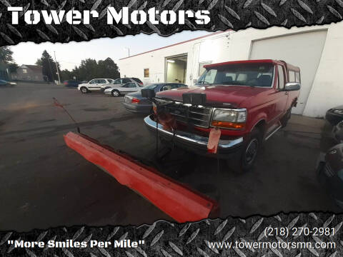 1993 Ford F-250 for sale at Tower Motors in Brainerd MN