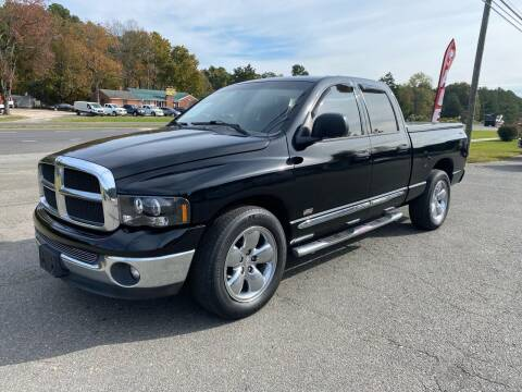 2003 Dodge Ram Pickup 1500 for sale at CVC AUTO SALES in Durham NC
