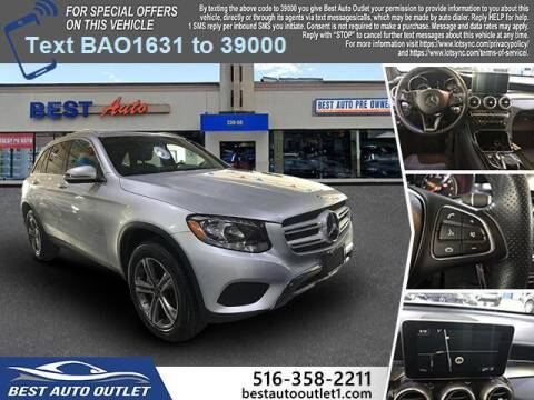 2018 Mercedes-Benz GLC for sale at Best Auto Outlet in Floral Park NY