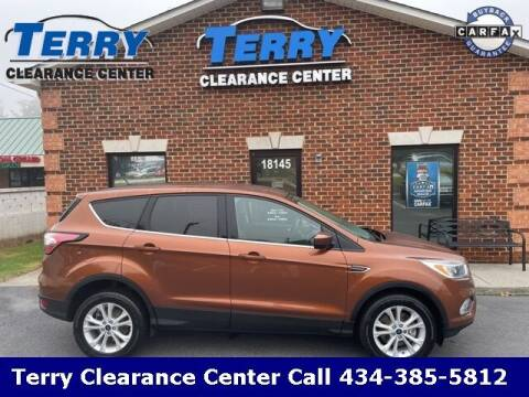 2017 Ford Escape for sale at Terry Clearance Center in Lynchburg VA