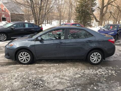 2017 Toyota Corolla for sale at MICHAEL MOTORS in Farmington ME