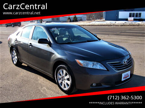 2007 Toyota Camry for sale at CarzCentral in Estherville IA