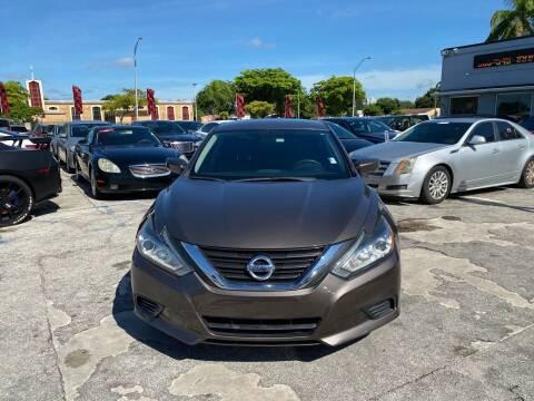 2016 Nissan Altima for sale at America Auto Wholesale Inc in Miami FL
