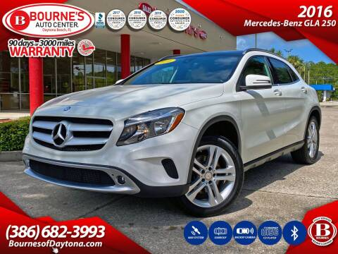 2016 Mercedes-Benz GLA for sale at Bourne's Auto Center in Daytona Beach FL