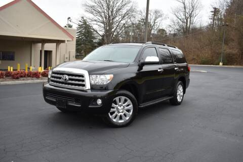 2014 Toyota Sequoia for sale at Alpha Motors in Knoxville TN