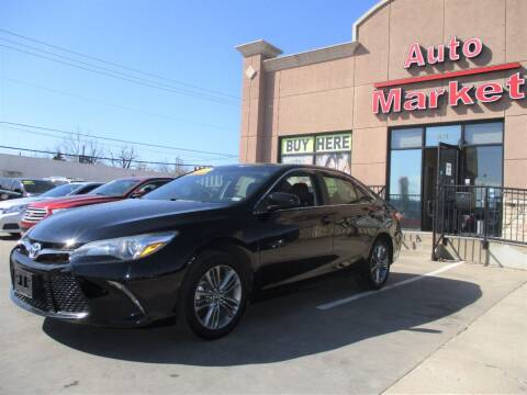 2017 Toyota Camry for sale at Auto Market in Oklahoma City OK