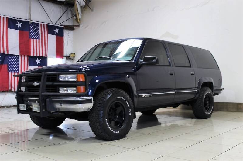 1994 Chevrolet Suburban for sale at ROADSTERS AUTO in Houston TX