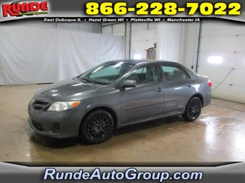 2011 Toyota Corolla for sale at Runde Chevrolet in East Dubuque IL