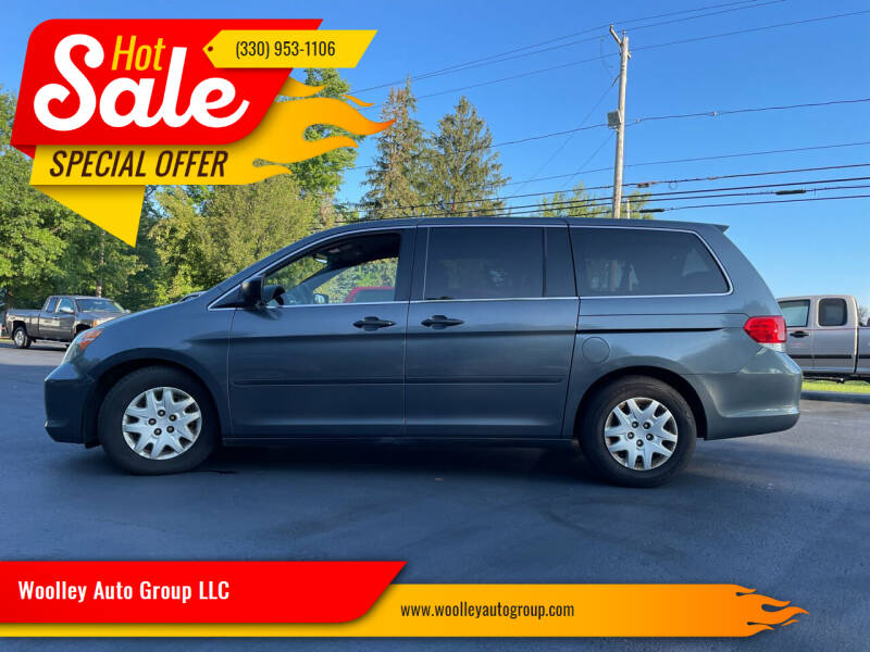 2010 Honda Odyssey for sale at Woolley Auto Group LLC in Poland OH