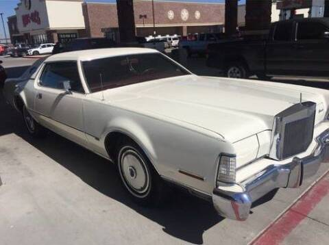 1973 Lincoln Continental for sale at Classic Car Deals in Cadillac MI