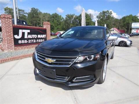 2019 Chevrolet Impala for sale at J T Auto Group in Sanford NC