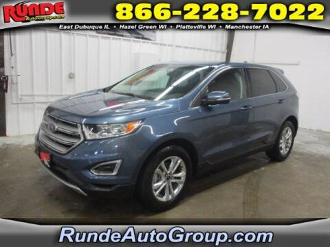 2018 Ford Edge for sale at Runde Chevrolet in East Dubuque IL