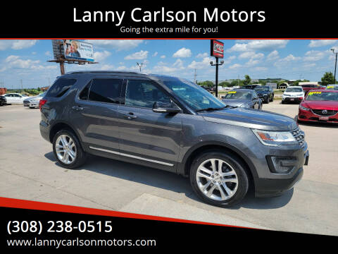 2016 Ford Explorer for sale at Lanny Carlson Motors in Kearney NE