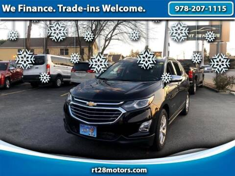 2018 Chevrolet Equinox for sale at RT28 Motors in North Reading MA