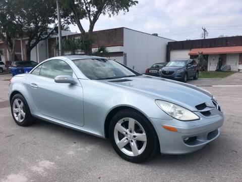 2006 Mercedes-Benz SLK for sale at Florida Cool Cars in Fort Lauderdale FL