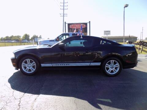 2012 Ford Mustang for sale at MYLENBUSCH AUTO SOURCE in O'Fallon MO