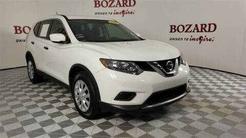 2016 Nissan Rogue for sale at BOZARD FORD in Saint Augustine FL