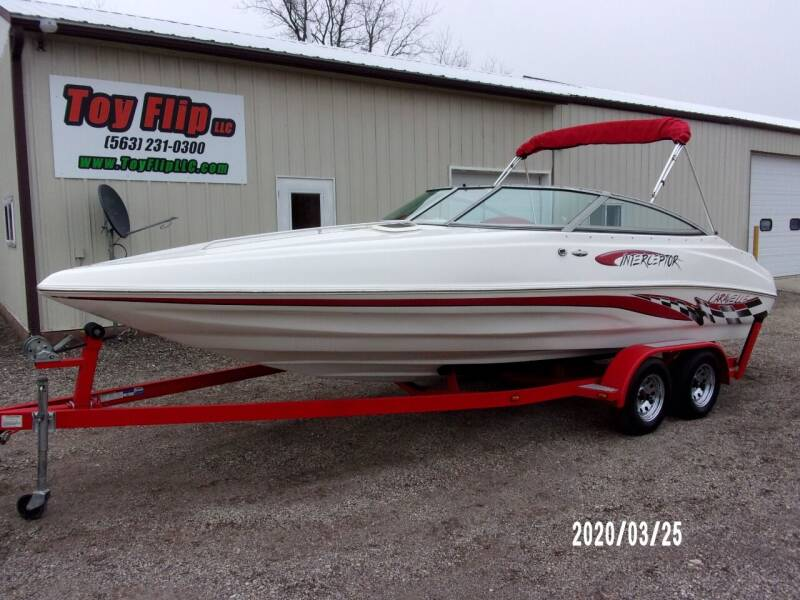 2003 Caravelle 232 Interceptor for sale at Toy Flip LLC in Cascade IA