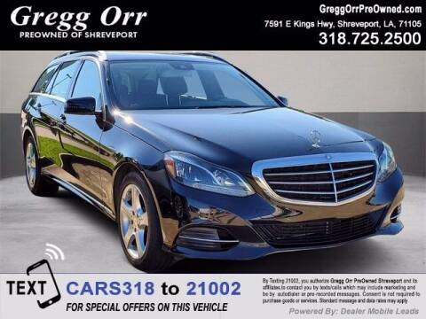 2014 Mercedes-Benz E-Class for sale at Gregg Orr Pre-Owned Shreveport in Shreveport LA