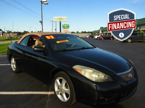2007 Toyota Camry Solara for sale at Auto World in Carbondale IL