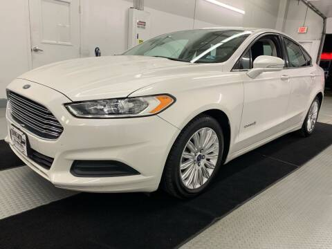 2015 Ford Fusion Hybrid for sale at TOWNE AUTO BROKERS in Virginia Beach VA