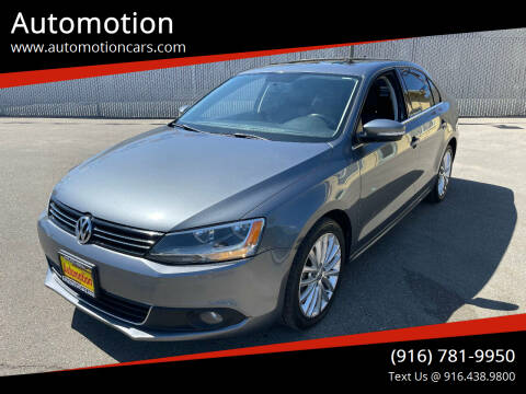 2011 Volkswagen Jetta for sale at Automotion in Roseville CA