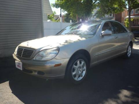 2002 Mercedes-Benz S-Class for sale at Pinto Automotive Group in Trenton NJ