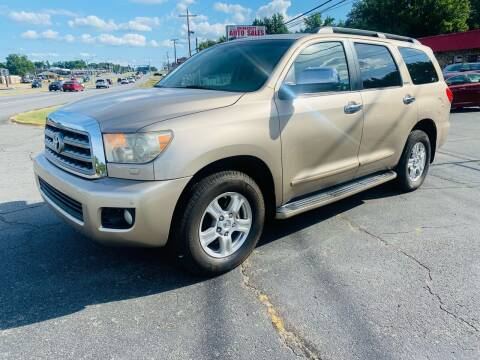 2008 Toyota Sequoia for sale at University Auto Sales of Little Rock in Little Rock AR