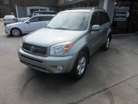 2004 Toyota RAV4 for sale at Millbrook Auto Sales in Duxbury MA