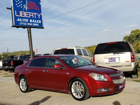 2008 Chevrolet Malibu for sale at Liberty Auto Sales in Merrill IA