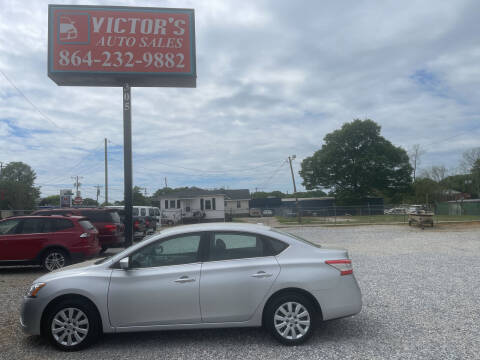 2015 Nissan Sentra for sale at Victor's Auto Sales in Greenville SC