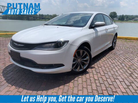 2015 Chrysler 200 for sale at PUTNAM AUTO SALES INC in Marietta OH