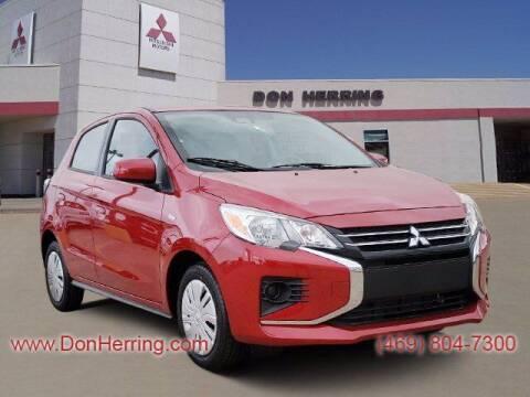 2021 Mitsubishi Mirage for sale at DON HERRING MITSUBISHI in Irving TX
