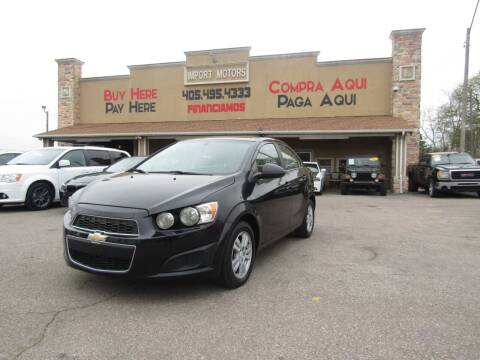 2015 Chevrolet Sonic for sale at Import Motors in Bethany OK