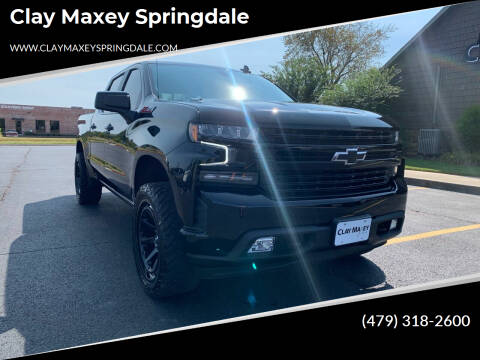 2021 Chevrolet Silverado 1500 for sale at Clay Maxey Springdale in Springdale AR