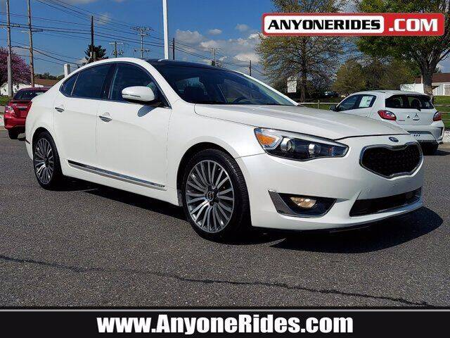 2015 Kia Cadenza for sale at ANYONERIDES.COM in Kingsville MD