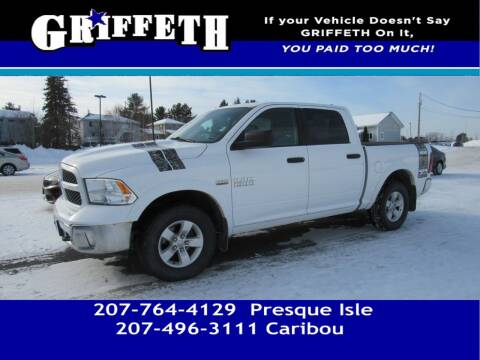 2015 RAM Ram Pickup 1500 for sale at Griffeth Mitsubishi - Pre-owned in Caribou ME