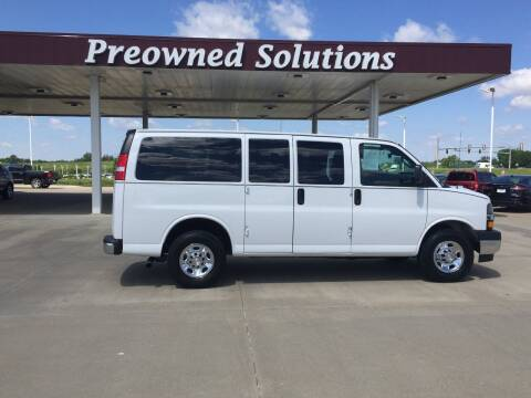 2019 Chevrolet Express Passenger for sale at Preowned Solutions in Urbandale IA