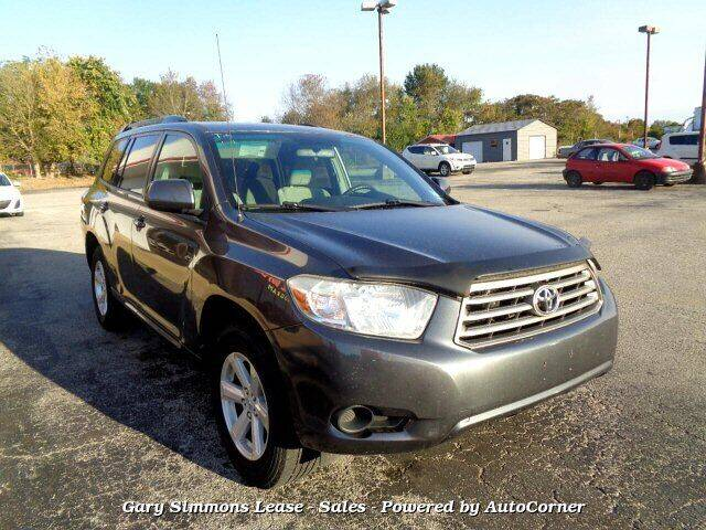 2010 Toyota Highlander for sale at Gary Simmons Lease - Sales in Mckenzie TN