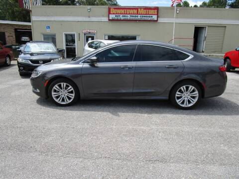 2015 Chrysler 200 for sale at Downtown Motors in Milton FL