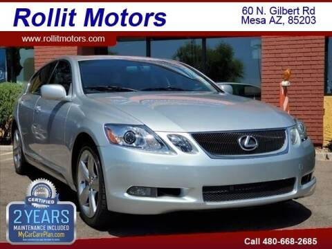 2007 Lexus GS 350 for sale at Rollit Motors in Mesa AZ