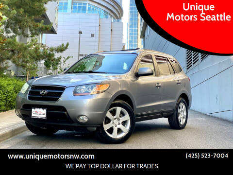 2007 Hyundai Santa Fe for sale at Unique Motors Seattle in Bellevue WA