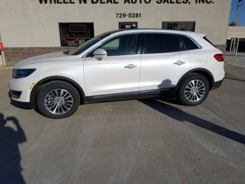 2016 Lincoln MKX for sale at Wheel - N - Deal Auto Sales Inc in Fairbury NE