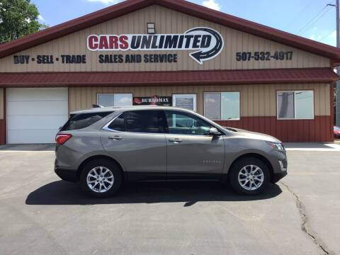 2018 Chevrolet Equinox for sale at Cars Unlimited in Marshall MN