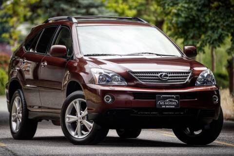 2008 Lexus RX 400h for sale at MS Motors in Portland OR