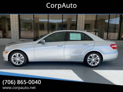 2010 Mercedes-Benz E-Class for sale at CorpAuto in Cleveland GA