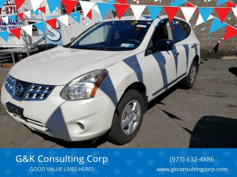 2012 Nissan Rogue for sale at G&K Consulting Corp in Fair Lawn NJ