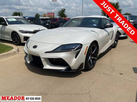 2020 Toyota GR Supra for sale at Meador Dodge Chrysler Jeep RAM in Fort Worth TX